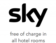 Sky free of charge in all hotel rooms